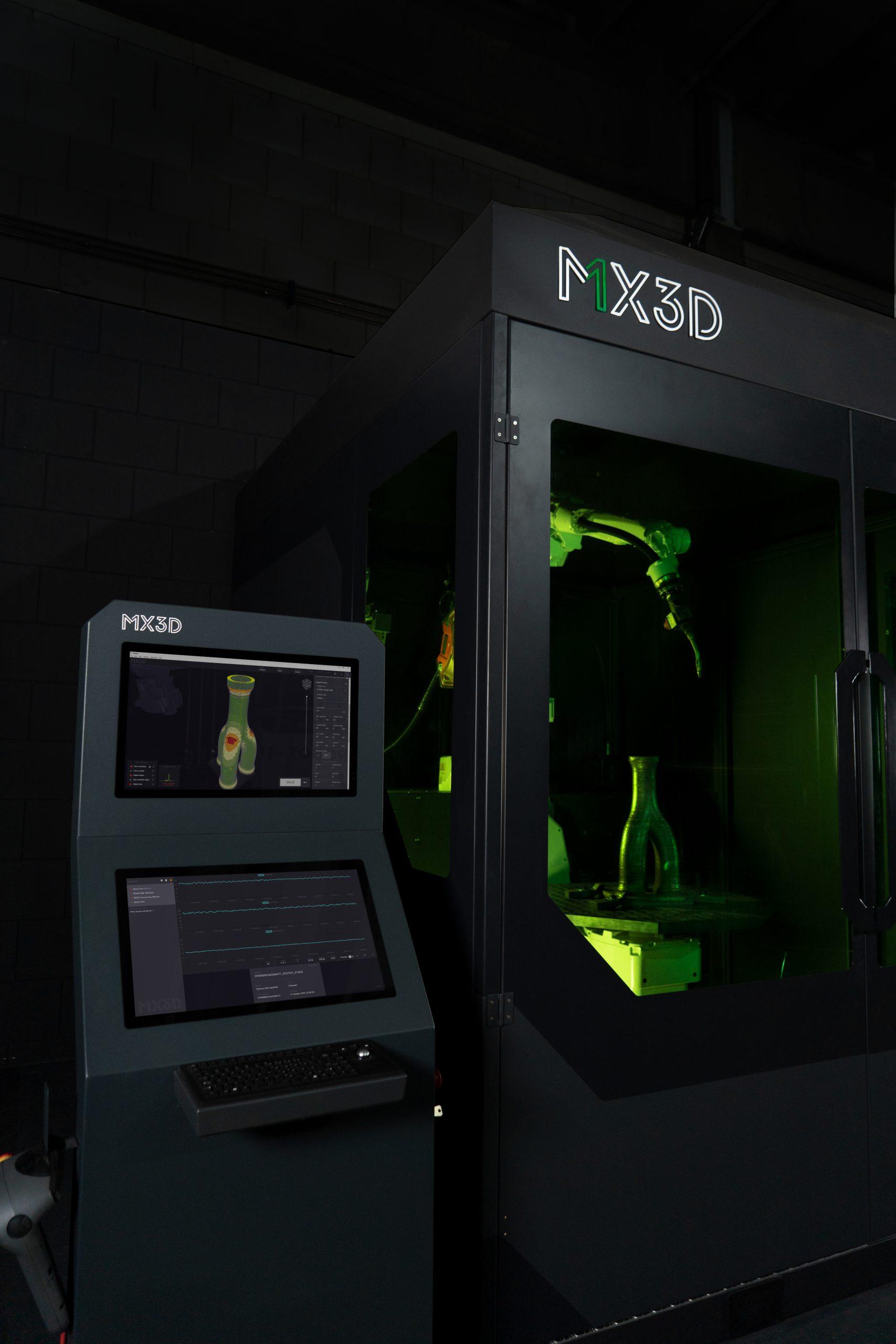 PDENH doet mee in 2,25 miljoen investeringsronde voor 3D-print bedrijf MX3D
